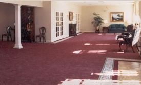 Funeral Home Lobby